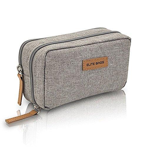 Elite Bags, Diabetic's, Astuccio Termico Per Insulina, Astuccio Isotermico, Per Kit Glicemia, Grigio