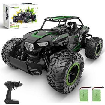 RC Car, 1: 14 Scale High Speed Off Road Hobby Crawler Al-Alloy Boy 2.4Ghz Large Size Electronic Racing Vehicle Truck for All Age