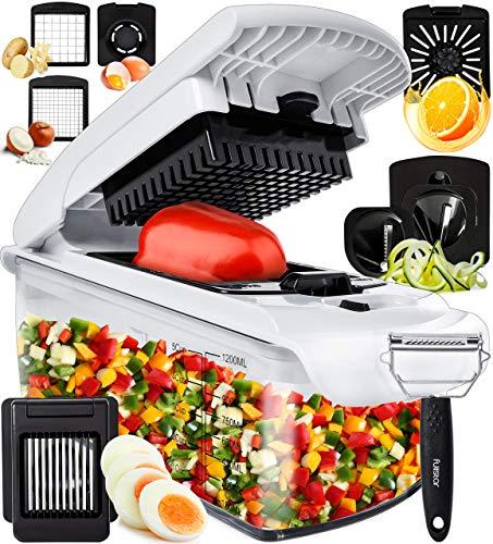Fullstar Vegetable Chopper Onion Chopper Dicer - Peeler Food Chopper Salad Chopper Vegetable Cutter Vegetable...