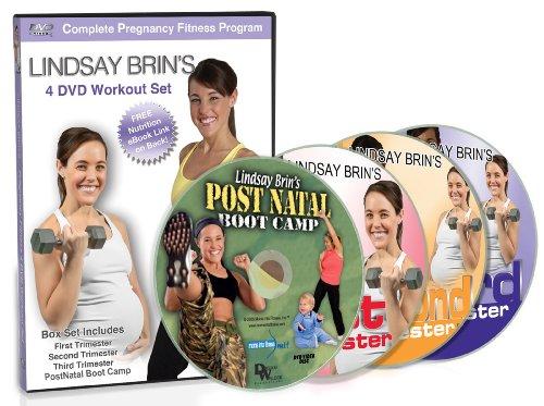 Lindsay Brin's Complete Pregnancy 4-DVD Workout Set: Cardio, Toning PLUS Yoga
