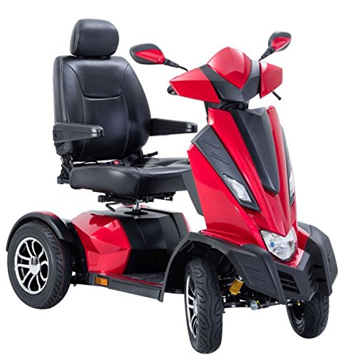 Drive Medical KING COBRA Electric Scooter + Drive Medical  Mobility Accessories - Bundle