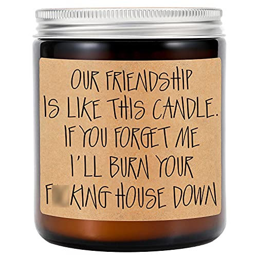 GSPY Lavender Scented Candles - Best Friend, Friendship...