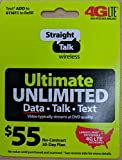 Straight Talk $55 Unlimited Card (Mail Delivery)
