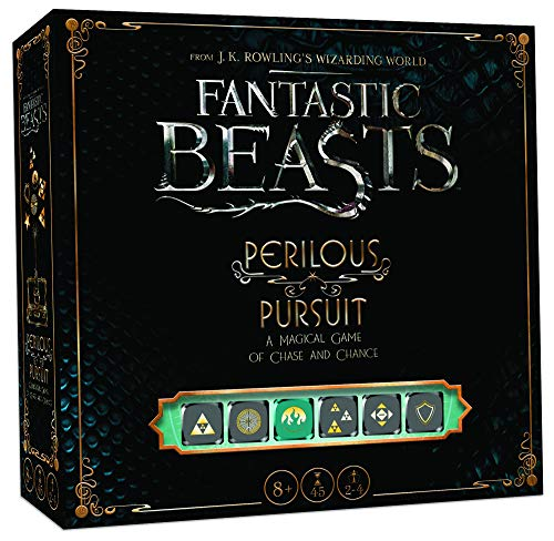 USAOPOLY Fantastic Beasts Perilous Pursuit Cooperative Dice Game | Harry Potter Fantastic Beasts and...