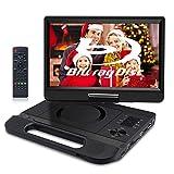 FANGOR Lecteur DVD Blu-Ray Portable 10.1 Pouces avec Batterie Rechargeable,...