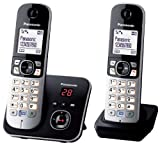 Panasonic KX-TG6822 Téléphones Sans fil Répondeur Ecran [Version...