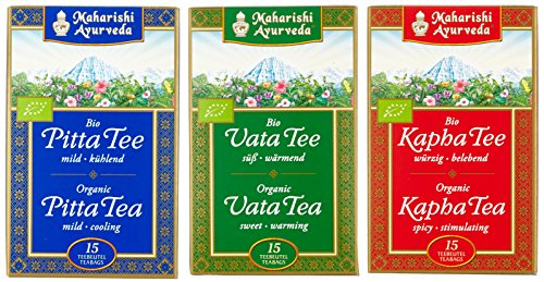 Maharishi Ayurveda Vata, Pitta, Kapha Tee biologisch (3 x 18 g)