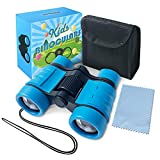 Binoculars for Kids Toys Gifts for Age 3, 4, 5, 6, 7, 8, 9, 10+ Years Old Boys Girls Kids Telescope Outdoor Toys for Sports and Outside Play Hiking, Bird Watching, Travel, Camping, Birthday Presents