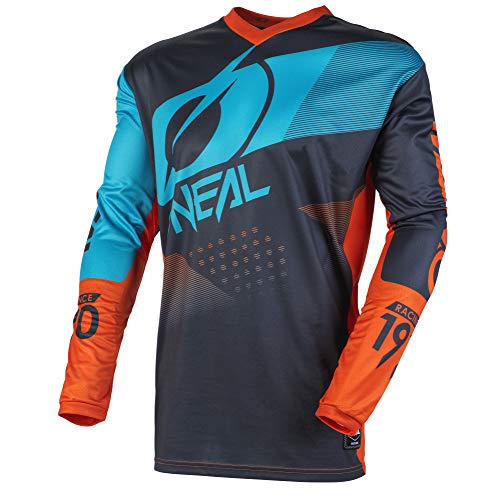 O\'NEAL Unisex Element Jersey T-Shirt, Gris, XL