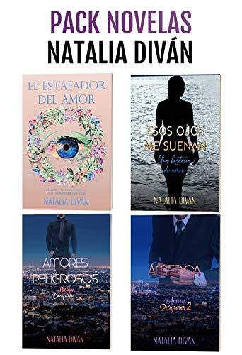 Pack novelas Natalia Diván: 4 historias de amor con toques de acción y suspense de Natalia Diván