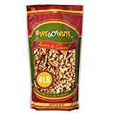California Raw Walnuts- 4 Pounds, Resealable Package-Fresh, No Shell, Unsalted-All Natural Dry Halves and Chopped Pieces-For Snacking, Kids, Baking Brownies, Diet- Kosher Certified- by We Got Nuts