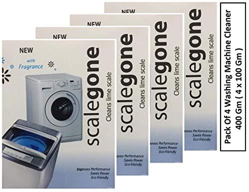 Washing Machine Descaler | Scalegone | Pack Of 4 | 400 Gm