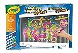 CRAYOLA- Lavagna Luminosa Deluxe Maxi Superficie Riutilizzabile per Colorare, 25-7246