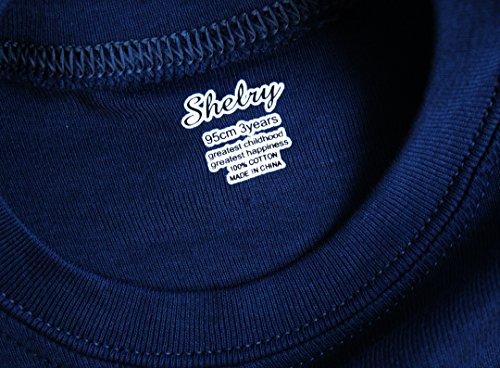 shelry Boys Rocket Pajamas Children Christmas Pants Set 100% Cotton Size 2-7 Years