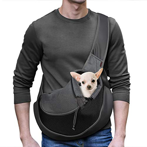 YUDODO Reflective Pet Dog Sling Carrier Breathable...