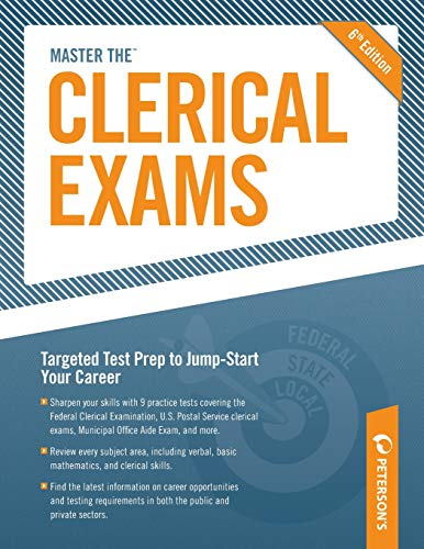 Master the Clerical Exams (Peterson's Master the Clerical Exams)