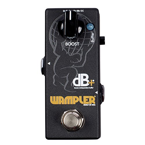 Wampler Pedals Decibel Plus V2 Boost and Independent Buffer Effects Pedal