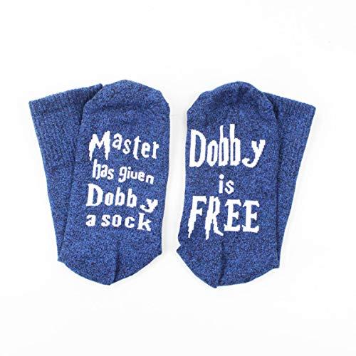 sdgfd Donna Uomo Unisex, Dobby Calzini gratuiti Calzini in Cotone alla Caviglia Champion Has Dobby A Sock Dobby Calzino in Cotone Gratuito - Confezione da 2