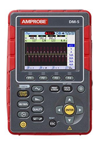 Amprobe DM-5 Power Quality Analyzer