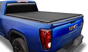 Tyger Auto T1 Roll Up Truck Tonneau Cover TG-BC1C9006 Compatible with 2014-2018 Chevy..