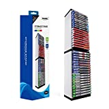PS4 Game Storage Tower - Universal Games Storage Tower - Game Disc Tower Stand CD Storage Holder Disc Rack per PS5 - Rack di archiviazione giochi...