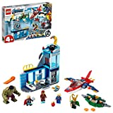 LEGO-La colère de Loki Marvel Super Heroes 4+ Jeux de Construction, 76152,...