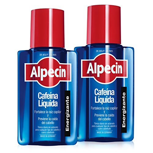 Alpecin Cafeina Liquida 2x 200 ml | Locion anticaida cabello