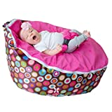 BayB Brand Bean Bag for Babies and Toddlers - Filled and Ready for Use (Pink)