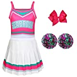 Cheerleader Costumes for Girls Girls Costumes Toddler Girls Outfit Fancy Dress for Party Birthday Gift