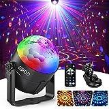 Lampe de Scène, Gvoo 3 Couleur Lumière Fête 5W Ampoules LED 7 RGB à...