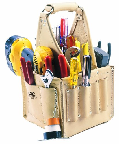CLC Custom Leathercraft 526 Electrician's and Maintenance Tool Pouch, Heavy...