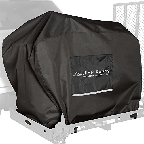 Water-Resistant Mobility Scooter Hitch Carrier Travel Cover
