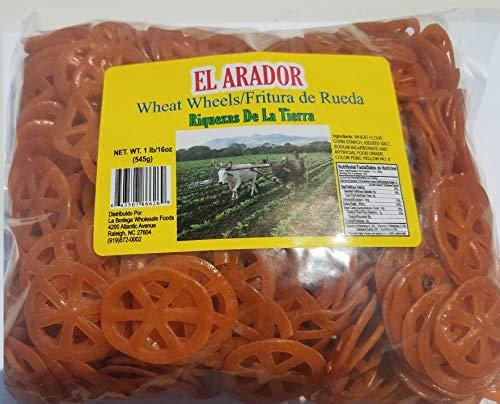 Chicharrones de Harina Wheels Wheat Snacks 1 pound