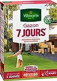 Vilmorin 4460714 Gazon 7 Jours, Vert, 1...