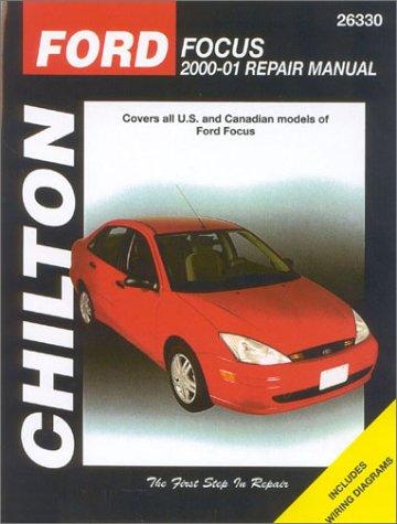 Ford Focus, 2000-2001: Chilton's Total Car Care Repair Manuals