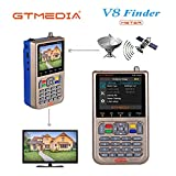 GT MEDIA V8 Satellite Finder Mètre Localisateur Signal Satellite...