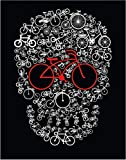 Bike Skull Fine Art Print - 11x14 Unframed Photo Wall Art- Fun Gift for Teenagers and Adults, Boy or Girl. Perfect for the Game Room, Dorm, Game Room, Office, Bedroom Decor. Gift Under $20