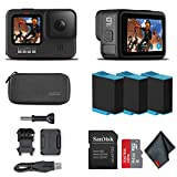 GoPro HERO9 Black - Waterproof Action Camera with Front LCD and Touch Rear Screens, 5K HD Video,...