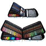 72 Crayons aquarelle, 24 Stylos pinceaux à double pointe, 12 Crayons à...