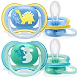 Philips Avent SCF349/11 Lot de 2 sucettes ultra air - 18+ Mois -...