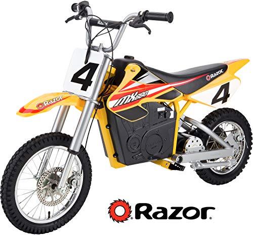 8. Razor MX650 Rocket Electric Motocross Bike