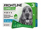 Frontline Combo Spot-On Chiens De M 10-20kg 3 Pipettes De 1,34ml