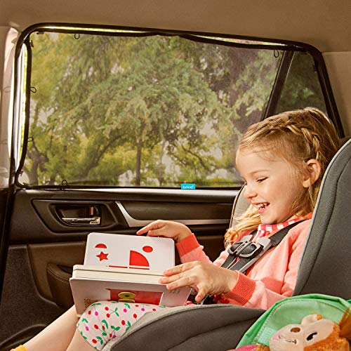 Munchkin Brica Magnetic Stretch to Fit Sun Shade, Black