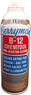Berryman Products 0116 B-12 Chemtool Carburetor, Fuel System and Injector Cleaner, 15..