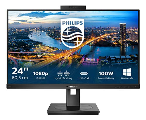 Philips Monitor 243B1JH de 60 cm (23,8 Pulgadas) (HDMI,...