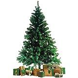 Wohaga rbol de Navidad con Soporte 180cm / 600 Puntas Abeto Artificial Decoracin navidea