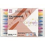 Kuretake Zig MS34008V Memory System Calligraphy Markers, Multicolor, 8-Pack