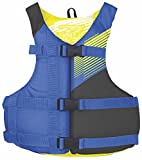 Stohlquist Fit Life Jacket/Personal Floatation Device, Blue/Black