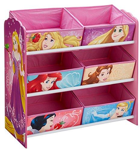 hellohome 471DIY Principesse Disney Mobile con Contenitori per La Cameretta, Legno, Multicolore, 30...