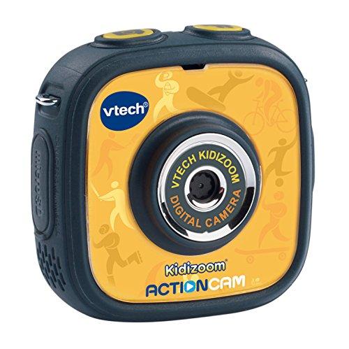 VTech Kidizoom Action Cam - Macchina fotografica digitale per bambini, multicolore